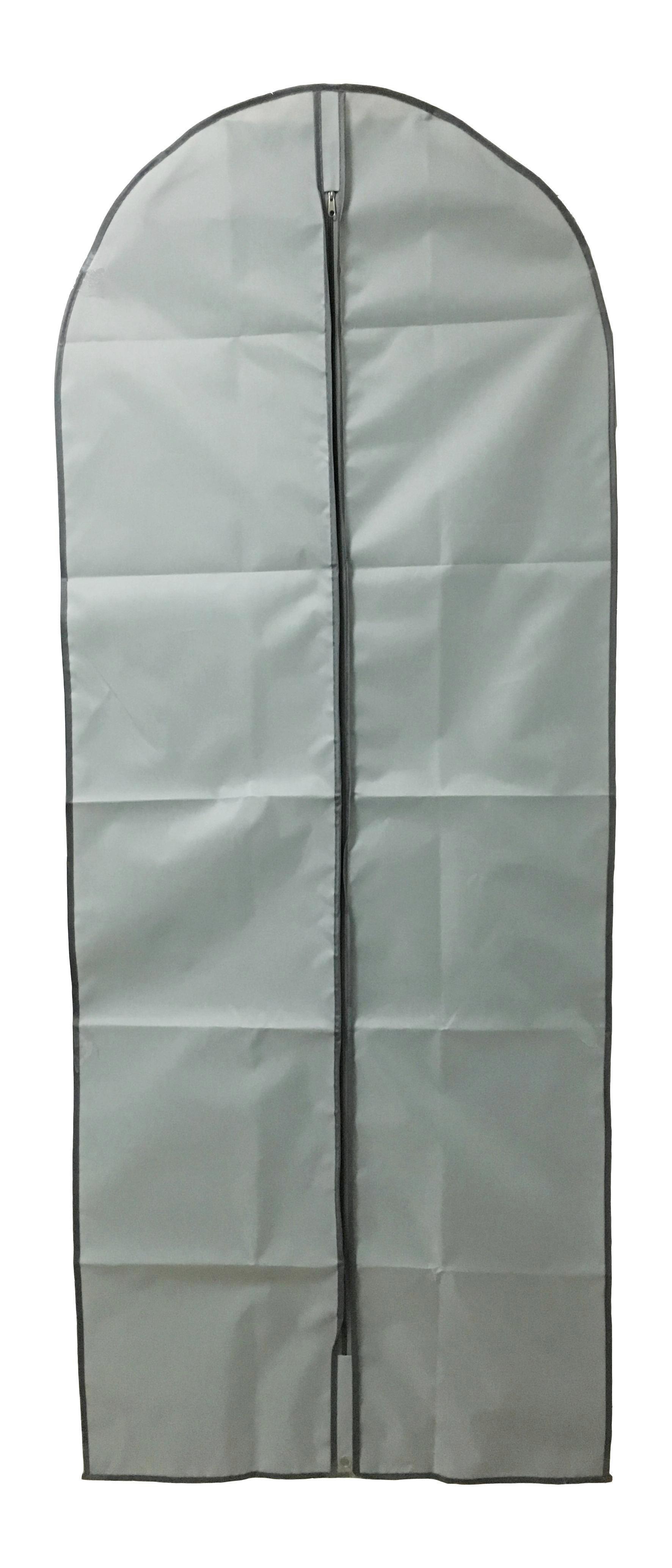 KLEIDERSACK - Grau, Basics, Kunststoff (60/150cm)