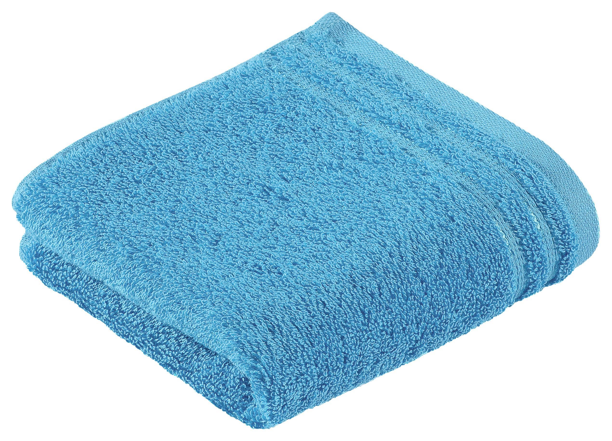 GÄSTETUCH 30/50 cm - Türkis, Basics, Textil (30/50cm) - VOSSEN