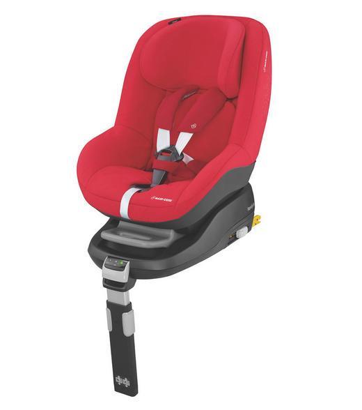 Kinderautositz Pearl - Rot/Schwarz, Basics, Kunststoff/Textil (47,5/64/69,5cm) - Maxi-Cosi