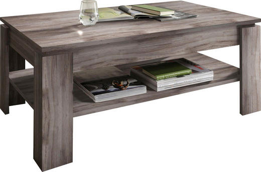COUCHTISCH rechteckig Eichefarben - Eichefarben, Design, Holzwerkstoff (110/65/47cm) - Carryhome