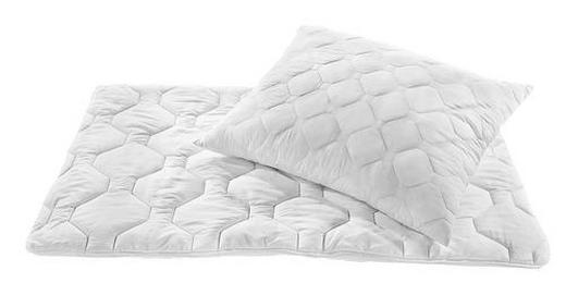 BETTENSET 140/200/ cm - Weiß, Basics, Textil (140/200/cm) - Boxxx