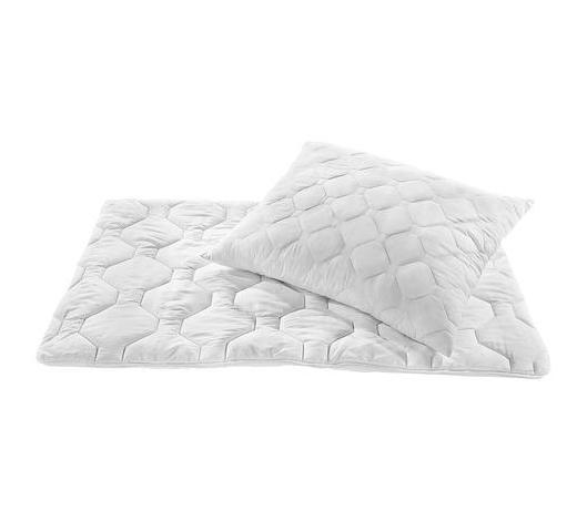 LOŽNÍ SADA, 140/200 cm - bílá, Basics, textil (140/200cm) - Boxxx