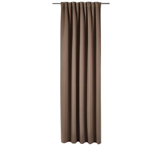 FERTIGVORHANG  Verdunkelung  140/245 cm   - Taupe, Basics, Textil (140/245cm) - Esposa