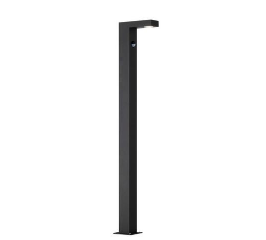 SOCKELLEUCHTE - Anthrazit, Design, Metall (85/6/15cm)