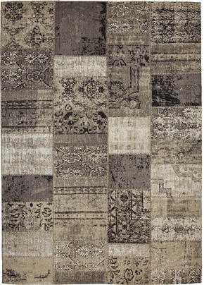 VINTAGE MATTA - ljusgrå, Lifestyle, textil/plast (80/150cm) - Novel