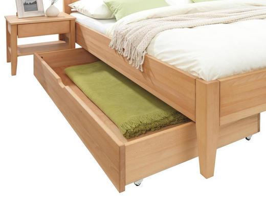 BETTKASTEN 150/21/80 cm Buchefarben - Buchefarben, Design, Holz/Kunststoff (150/21/80cm) - Linea Natura