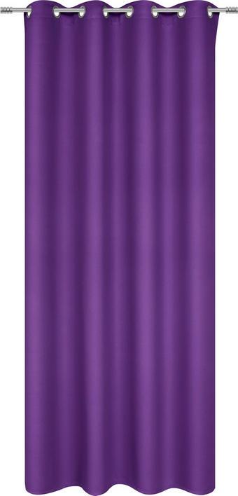 ÖSENVORHANG black-out (lichtundurchlässig) - Lila, Basics, Textil (140/245cm) - Esposa