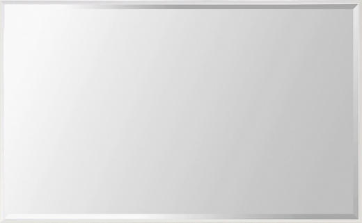 SPIEGEL Weiß - Weiß, Design, Glas/Holzwerkstoff (90/60/4cm)