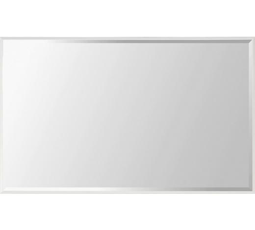SPIEGEL - Weiß, Design, Glas/Holzwerkstoff (90/60/4cm)