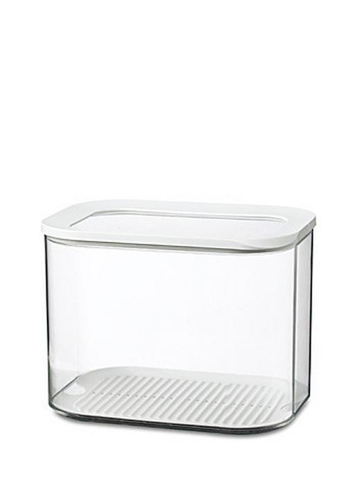 VORRATSDOSE 4,5 L - Transparent/Weiß, Kunststoff (4.5l) - MEPAL ROSTI