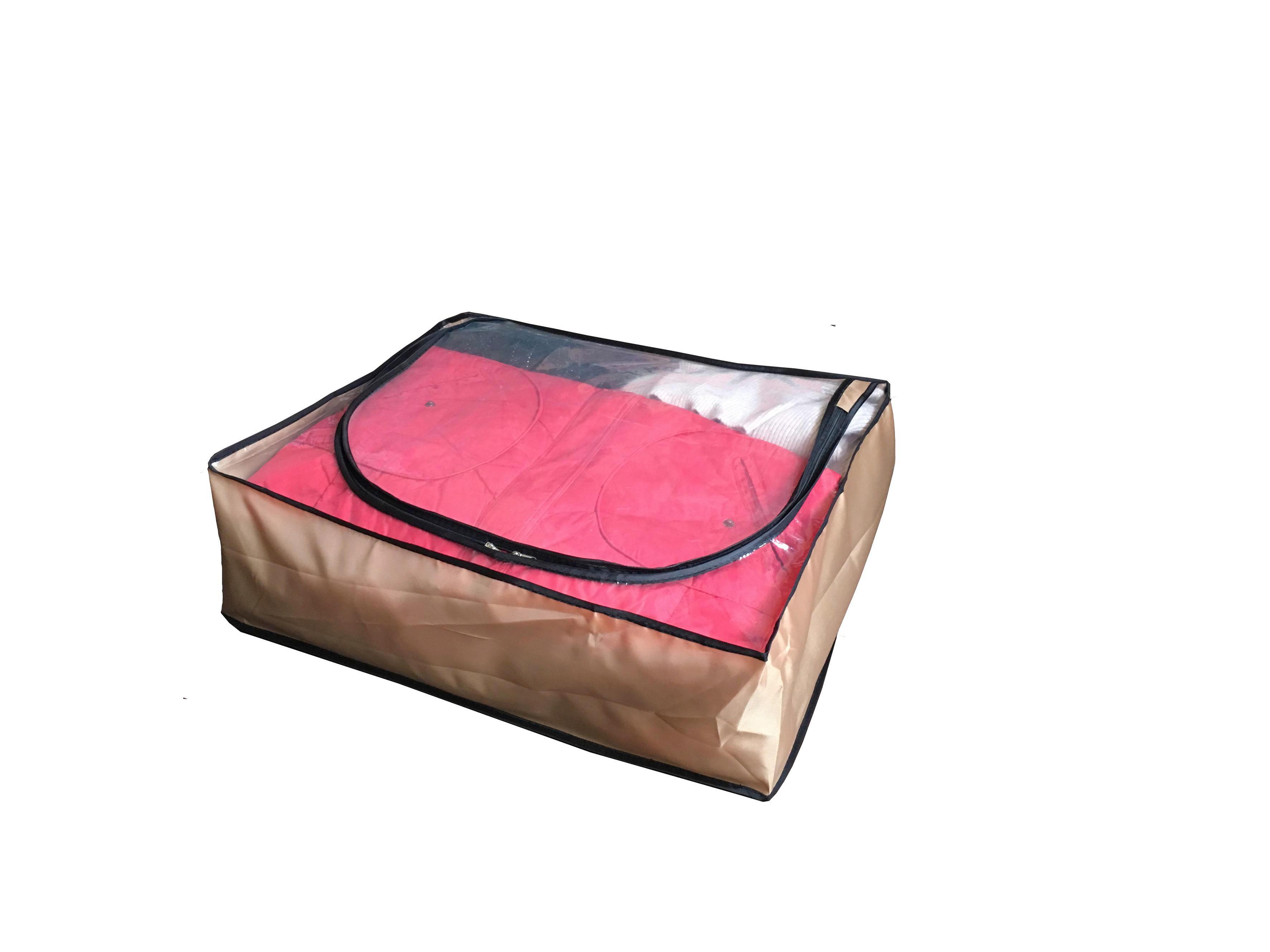 SKLOPIVA KUTIJA - boje zlata/smeđa, Konvencionalno, plastika (55/15/45cm)