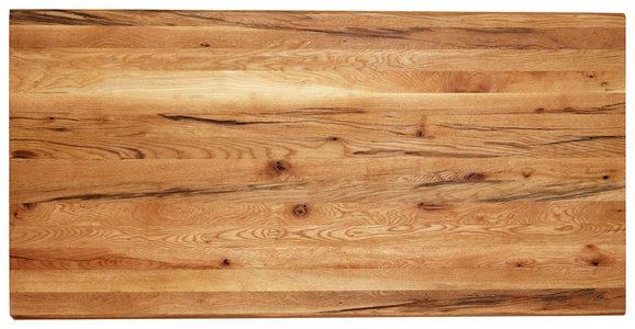 BORDSSKIVA - ekfärgad, Natur, trä (180/90/4cm) - Valdera