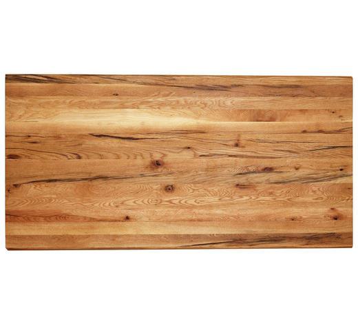 TISCHPLATTE in Holz 180/90/4 cm - Eichefarben, Natur, Holz (180/90/4cm) - Valdera