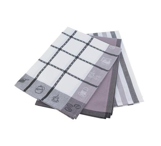 SADA UTĚREK, modrá, hnědá, šedá, červená - šedá/modrá, Konvenční, textil (50/70cm) - Esposa