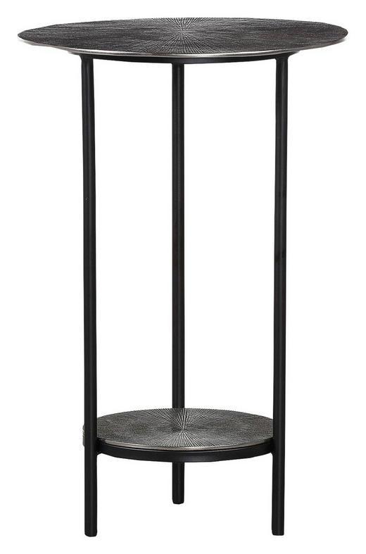 COUCHTISCH Schwarz - Schwarz, Design, Metall (41/62cm) - Carryhome