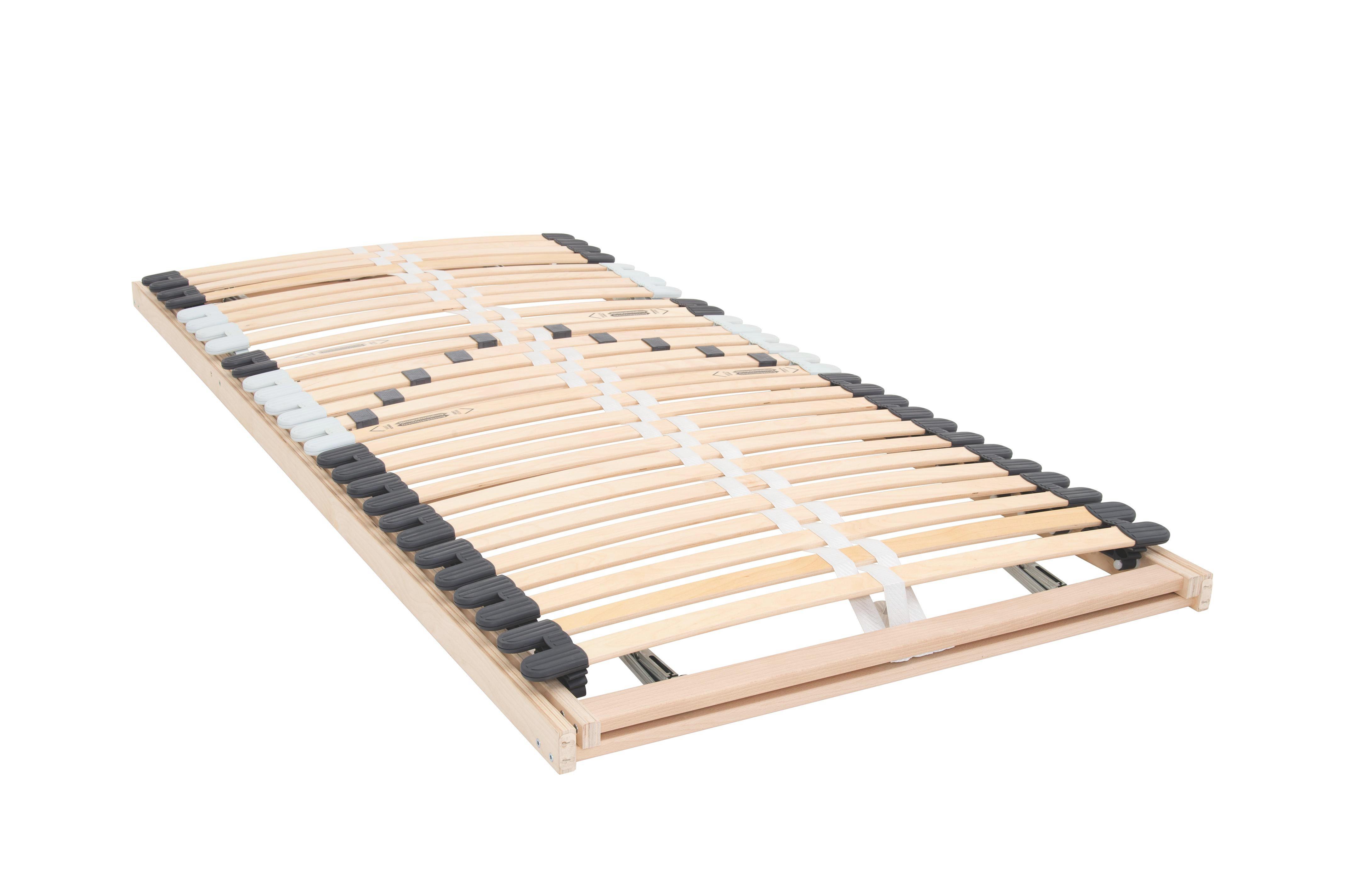 LATTENROST 90/200 cm   Birke Echtholz - Birkefarben, Design, Holz (90/200cm) - CARRYHOME