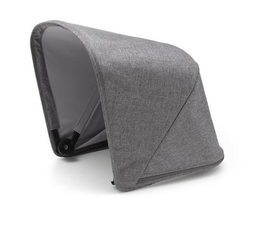KINDERWAGENVERDECK - Grau, Design, Textil (32cm) - Bugaboo