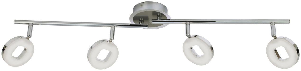 LED REFLEKTOR - Boje hroma/Boja nikla, Konvencionalno, Plastika/Metal (76cm) - Novel