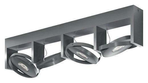 MYLIVING LED-DECKENLEUCHTE - Alufarben, Design, Metall (56,7/11,5/12,5cm) - Philips