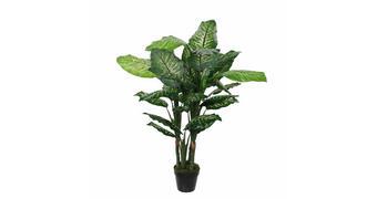UMETNA ROŽA - zelena, Basics, umetna masa (60/120cm)