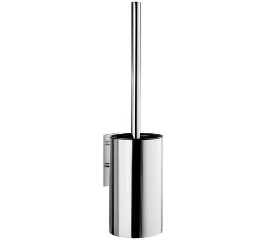 WC-BÜRSTENGARNITUR in Metall - Chromfarben, Kunststoff/Metall (30,3/38cm)