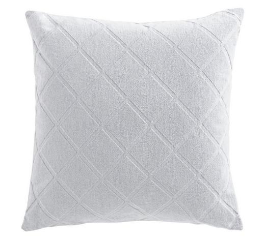 KISSENHÜLLE Silberfarben 48/48 cm  - Silberfarben, Design, Textil (48/48cm) - Ambiente