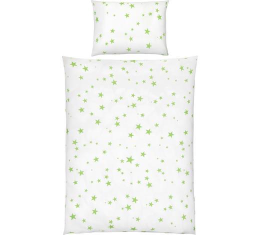 POSTELJNINA ZA DOJENČKE ZVEZDA - zelena/bela, Basics, tekstil (100/135cm) - My Baby Lou