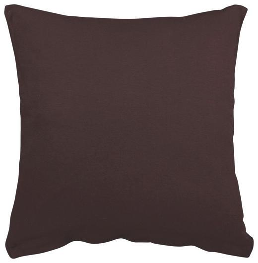 KISSENHÜLLE Dunkelbraun 40/40 cm - Dunkelbraun, Basics, Textil (40/40cm) - Schlafgut