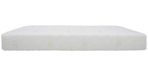TASCHENFEDERKERNMATRATZE 120/200 cm  - Weiß, Basics, Textil (120/200cm) - Sleeptex