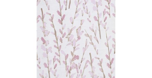 FERTIGVORHANG halbtransparent  - Rosa, KONVENTIONELL, Textil (140/245cm) - Esposa