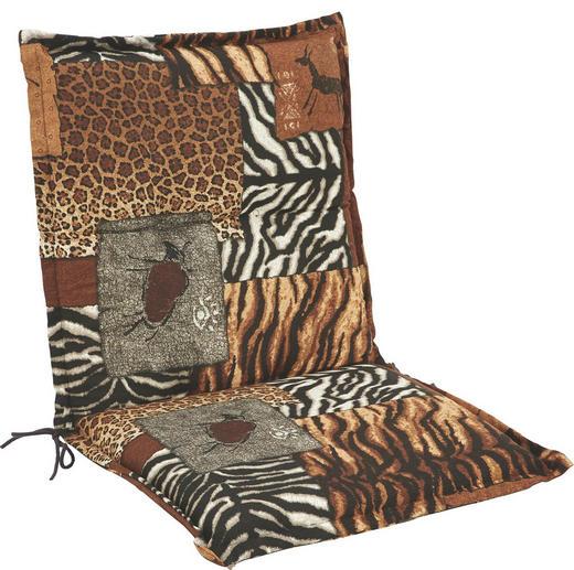 SESSELAUFLAGE Animalprint - Design, Textil (50/100/9cm)