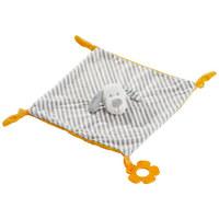 SCHMUSETUCH - Weiß/Grau, Basics, Textil (28/28cm) - My Baby Lou
