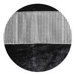 Vorhang mit Ösen Marga B: 140 cm Schwarz - Schwarz, ROMANTIK / LANDHAUS, Textil (140/245cm) - James Wood