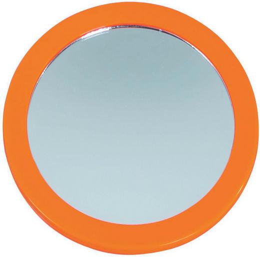 KOSMETIKSPIEGEL Orange - Orange, Basics, Glas/Kunststoff (16cm)