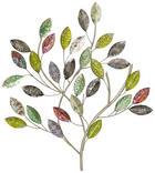 WANDDEKO - Multicolor, Trend, Metall (61/65,7/3,5cm) - Ambia Home