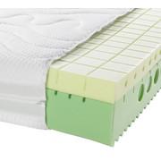 KALTSCHAUMMATRATZE 90/200 cm - Creme, Basics, Textil (90/200cm) - Physiosleep