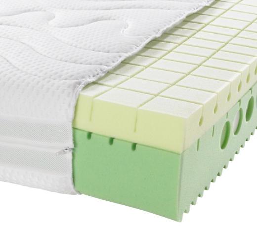KALTSCHAUMMATRATZE 140/200 cm - Creme, Basics, Textil (140/200cm) - Physiosleep