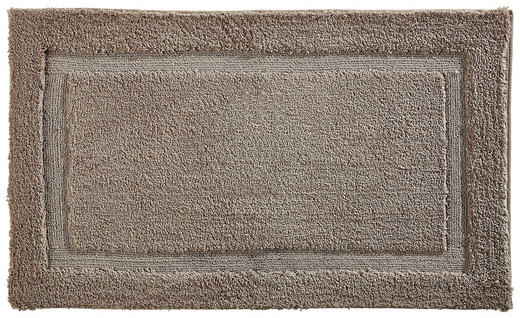 BADEMATTE  Taupe  70/120 cm - Taupe, KONVENTIONELL, Textil (70/120cm) - Esposa