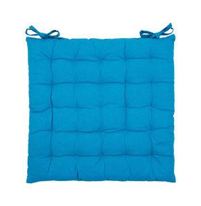 SITTDYNA - blå, Basics, textil (40/40/3cm) - Boxxx