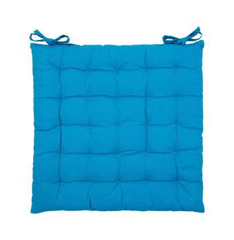 SITZKISSEN 40/40/3 cm - Blau, Basics, Textil (40/40/3cm) - Boxxx