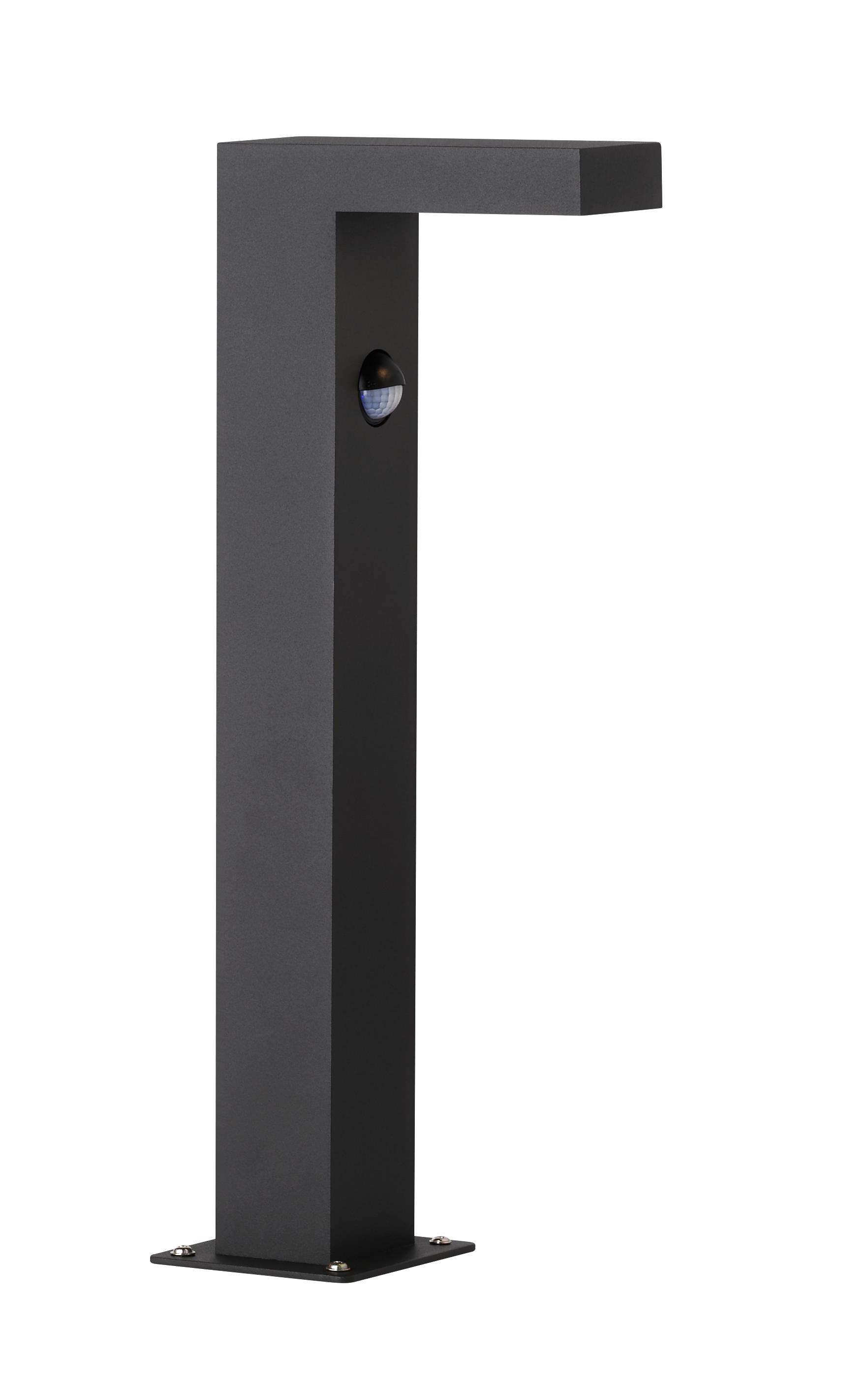 SOCKELLEUCHTE - Anthrazit, Design, Metall (40/6/15cm)