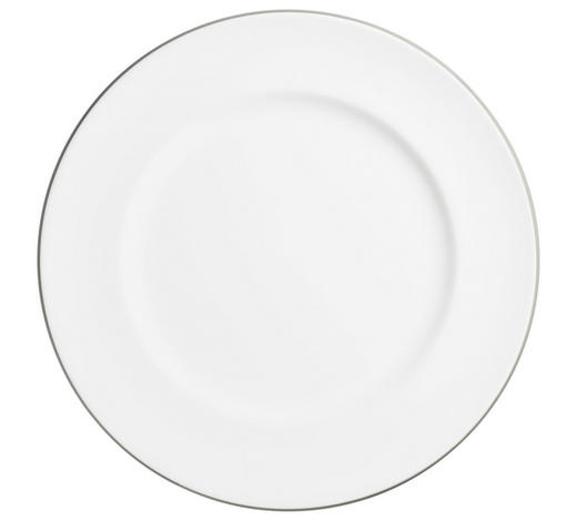 SPEISETELLER 29 cm  - Weiß/Grau, LIFESTYLE, Keramik (29cm) - Gmundner