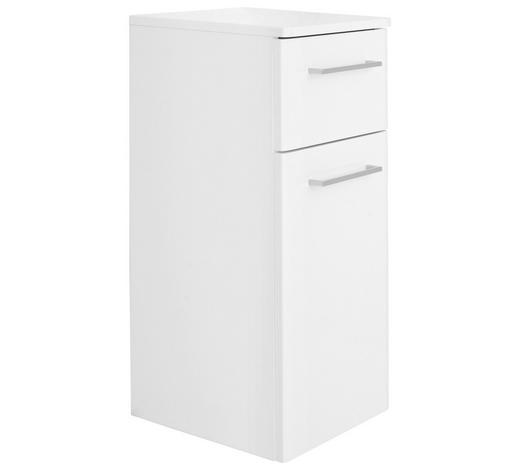 SPODNÍ SKŘÍŇKA, bílá - bílá/barvy chromu, Konvenční, kompozitní dřevo (30/72/33cm) - Xora