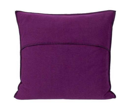 KISSENHÜLLE Aubergine 50/50 cm - Aubergine, Basics, Textil (50/50cm) - Zoeppritz