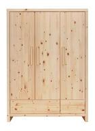 KLEIDERSCHRANK Zirbe - Naturfarben, Holz (145/200/56cm) - JIMMYLEE