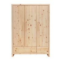 KLEIDERSCHRANK Zirbe - Naturfarben, Natur, Holz (145/200/56cm) - Jimmylee