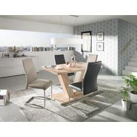 HOUPACÍ ŽIDLE, šedá, černá - šedá/černá, Design, kov/textil (43/98/60cm) - Carryhome