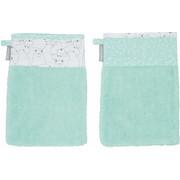 BABYWASCHHANDSCHUH - Mintgrün, Basics, Textil (37/26/0,5cm) - Bebe Jou