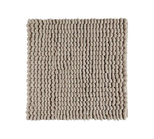BADEMATTE  Beige  60/60 cm     - Beige, Basics, Textil (60/60cm) - Aquanova
