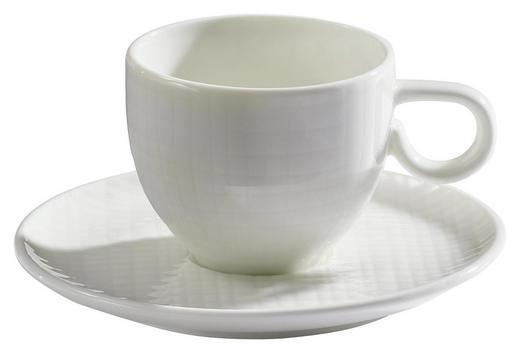 ESPRESSOTASSE MIT UNTERTASSE - Creme, Design, Keramik (0,08l) - ASA
